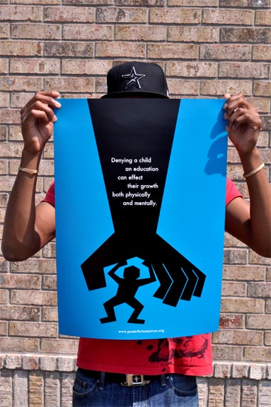 Every Child Has a Right to an Education Poster | The Visual Brothera